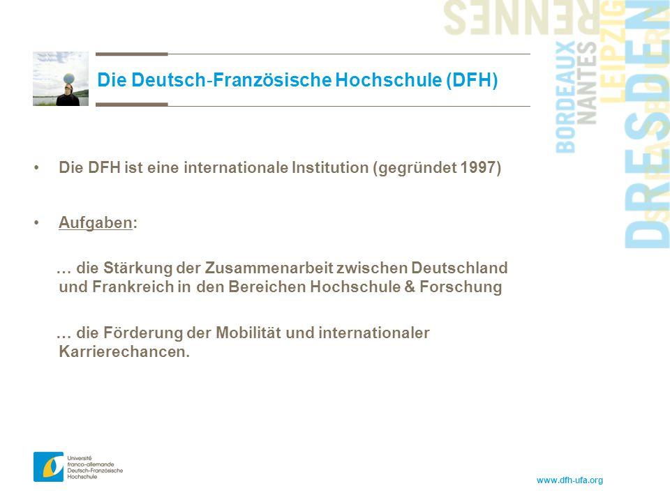 Die Deutsch-Französische Hochschule (DFH)
