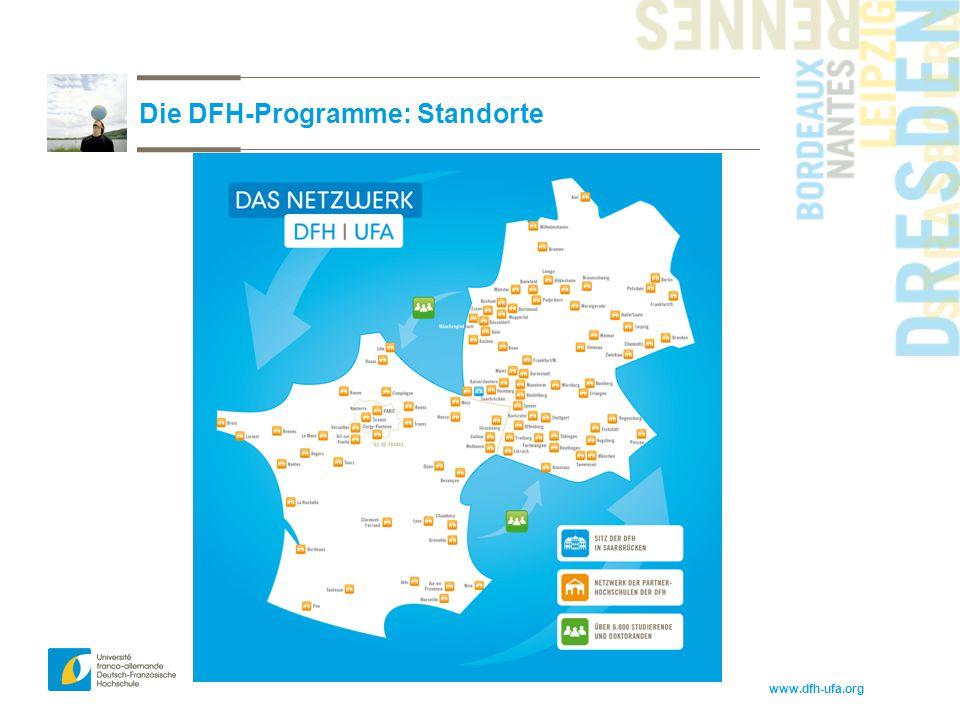 Die DFH-Programme: Standorte
