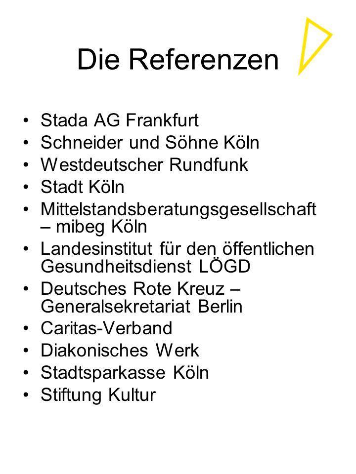 Die Referenzen Stada AG Frankfurt Schneider und Söhne Köln