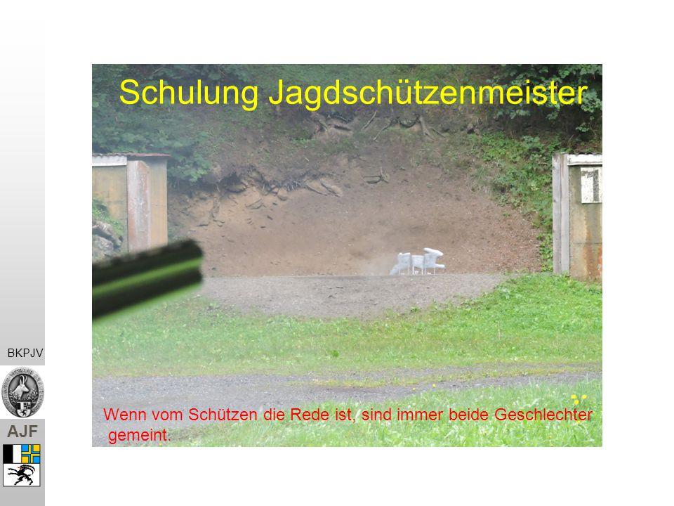 Schulung Jagdschützenmeister