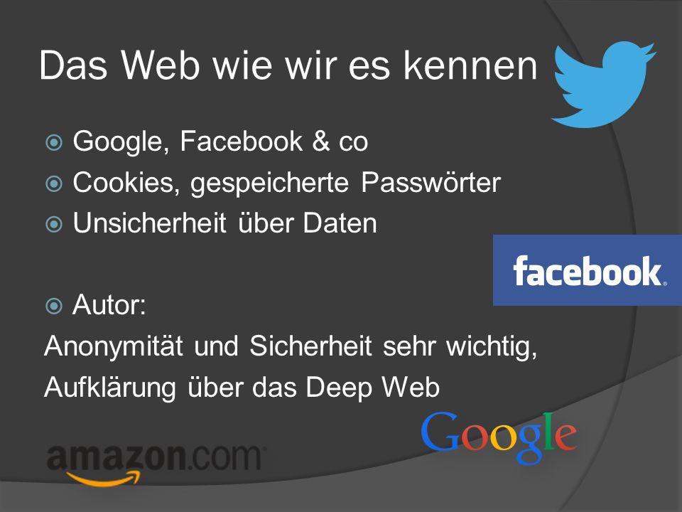 Das Web wie wir es kennen