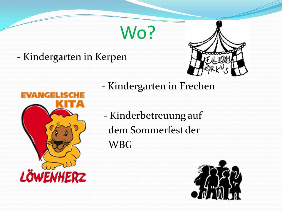 Wo - Kindergarten in Kerpen - Kindergarten in Frechen