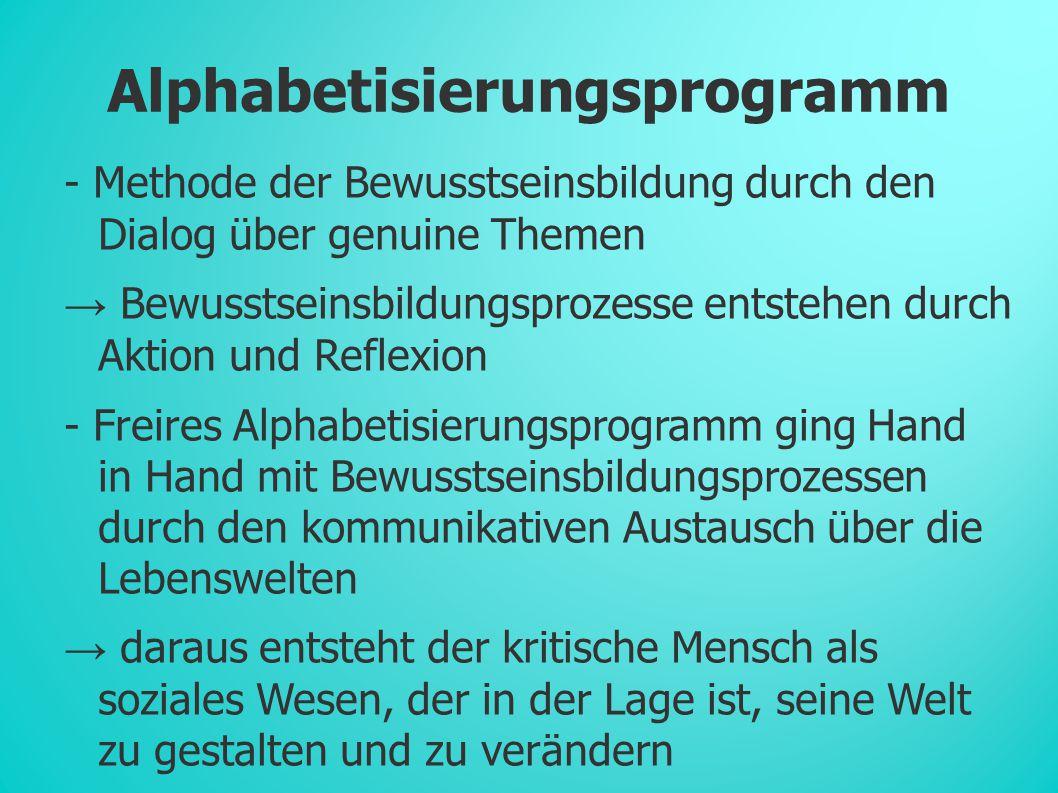 Alphabetisierungsprogramm