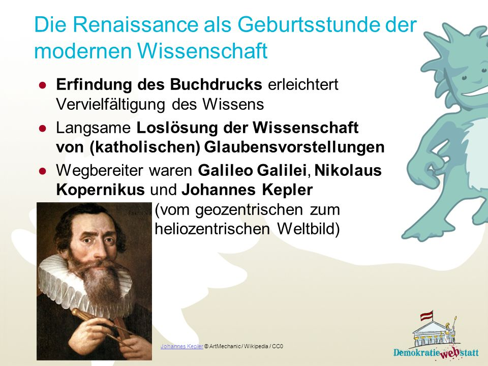 Die Renaissance als Geburtsstunde der modernen Wissenschaft