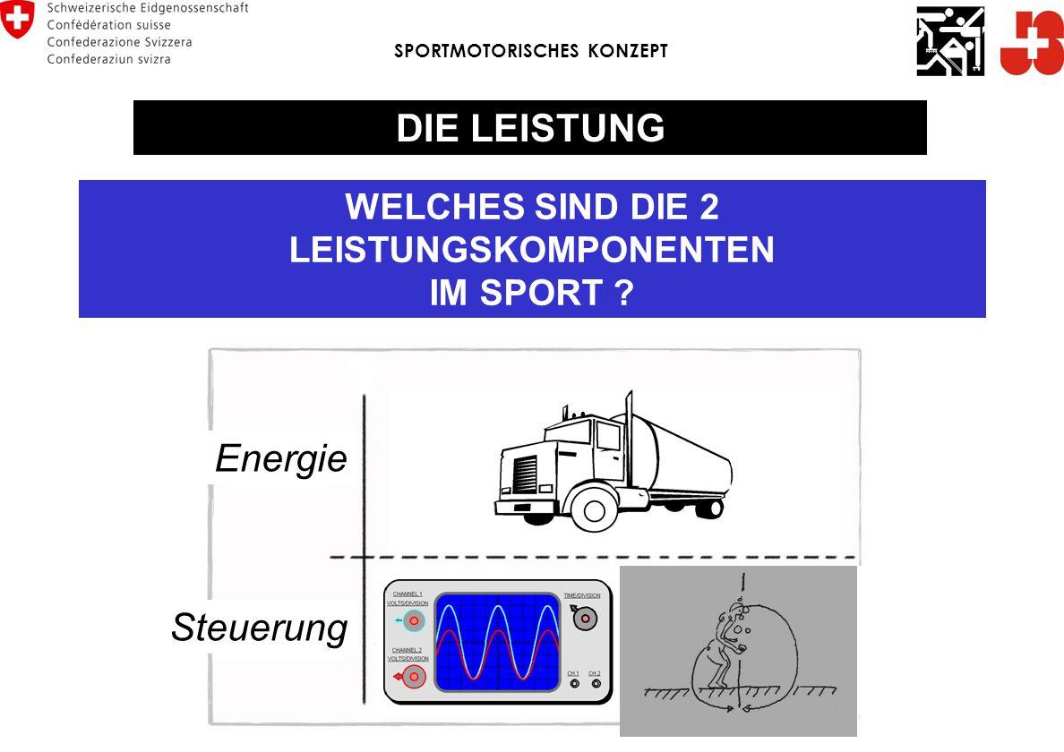 DIE LEISTUNG Energie Steuerung