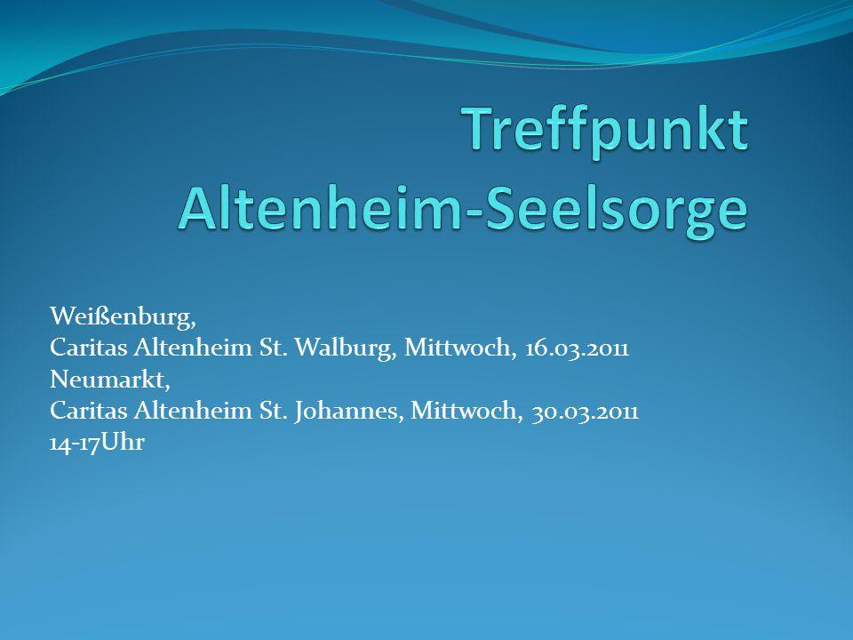 Treffpunkt Altenheim-Seelsorge