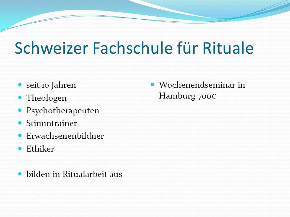 Schweizer Fachschule für Rituale
