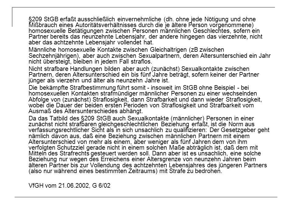 §209 StGB erfaßt ausschließlich einvernehmliche (dh