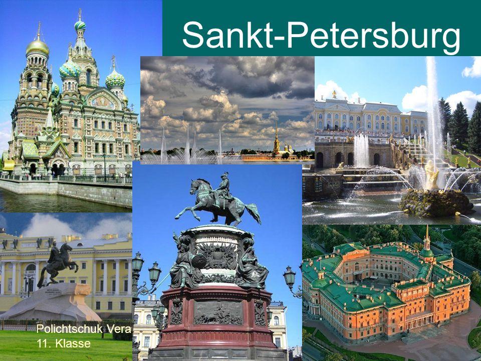 Sankt-Petersburg Polichtschuk Vera 11. Klasse