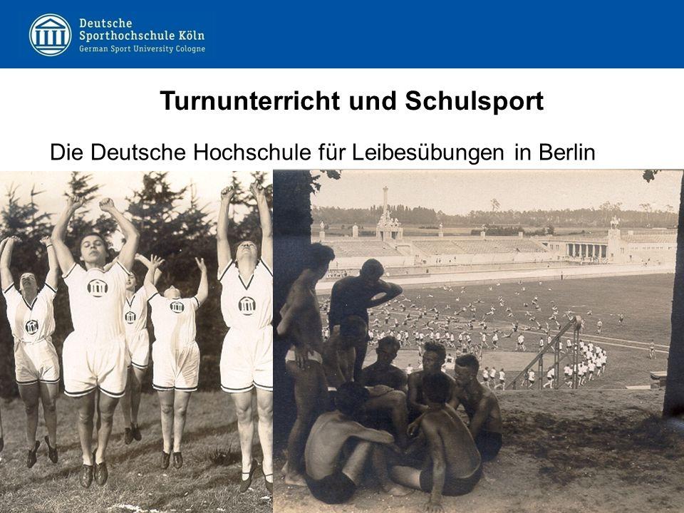 Turnunterricht und Schulsport