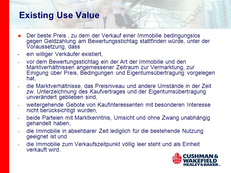 Existing Use Value