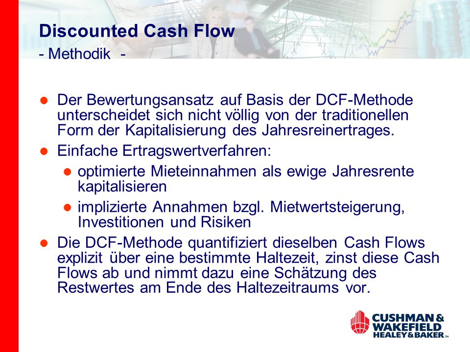 Discounted Cash Flow - Methodik -