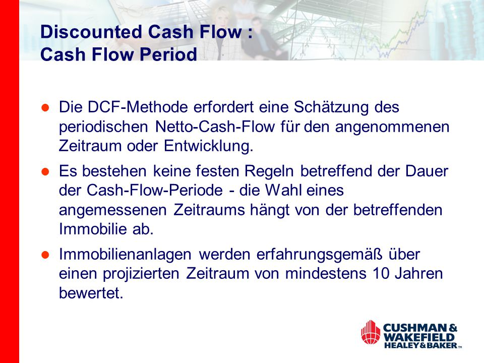 Discounted Cash Flow : Cash Flow Period