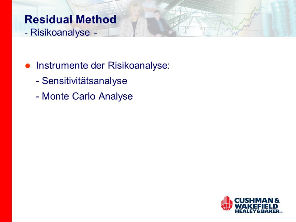 Residual Method - Risikoanalyse -
