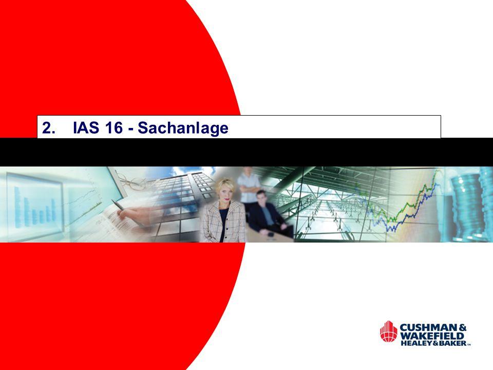 2. IAS 16 - Sachanlage
