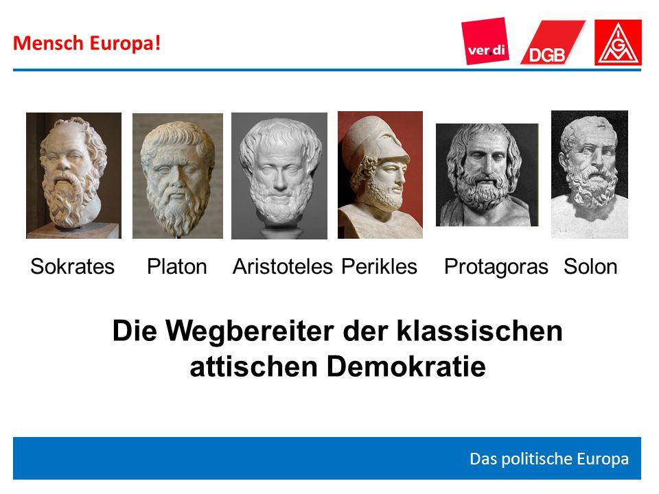 Die Wegbereiter der klassischen attischen Demokratie