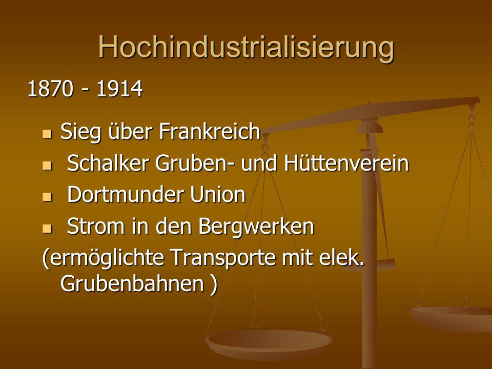 Hochindustrialisierung