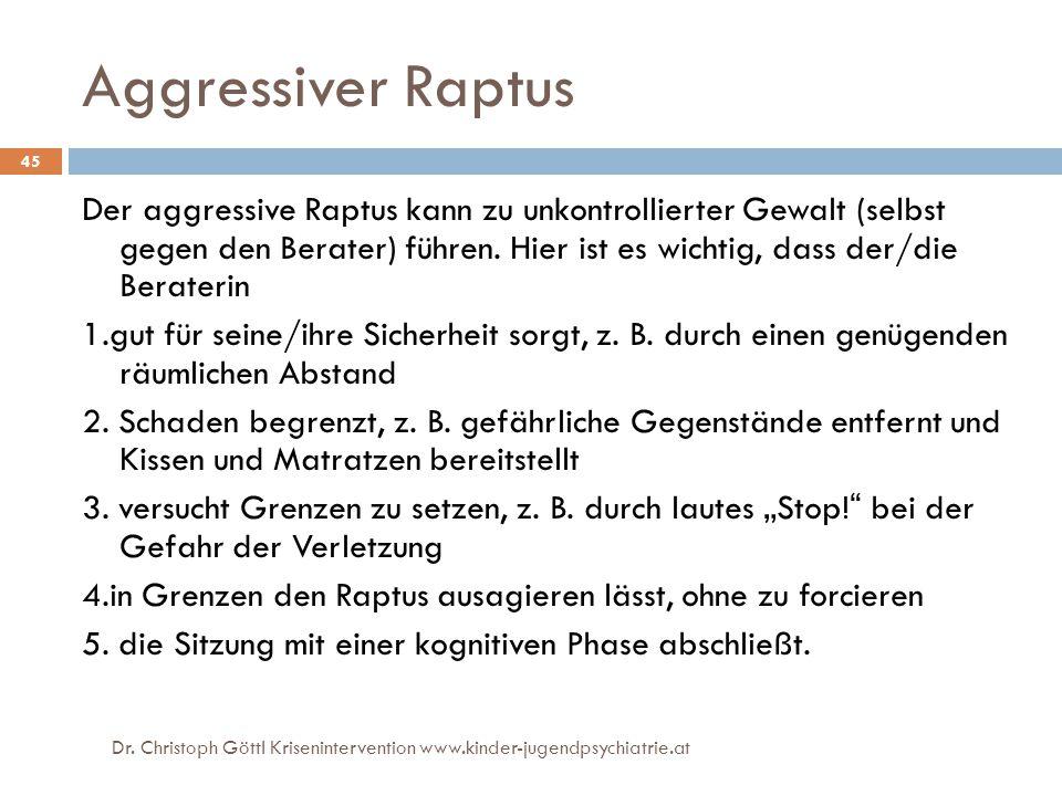 Aggressiver Raptus