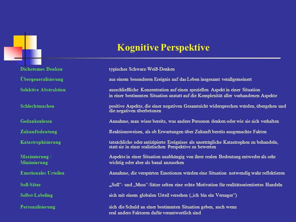 Kognitive Perspektive