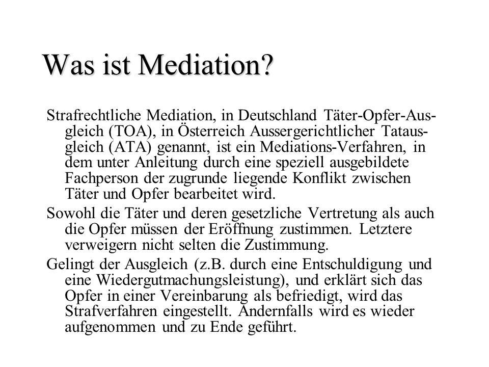 Was ist Mediation