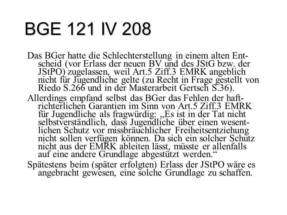 BGE 121 IV 208