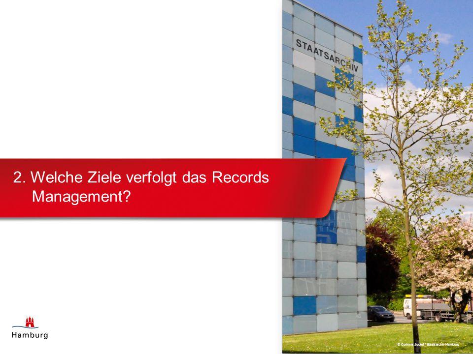 2. Welche Ziele verfolgt das Records Management