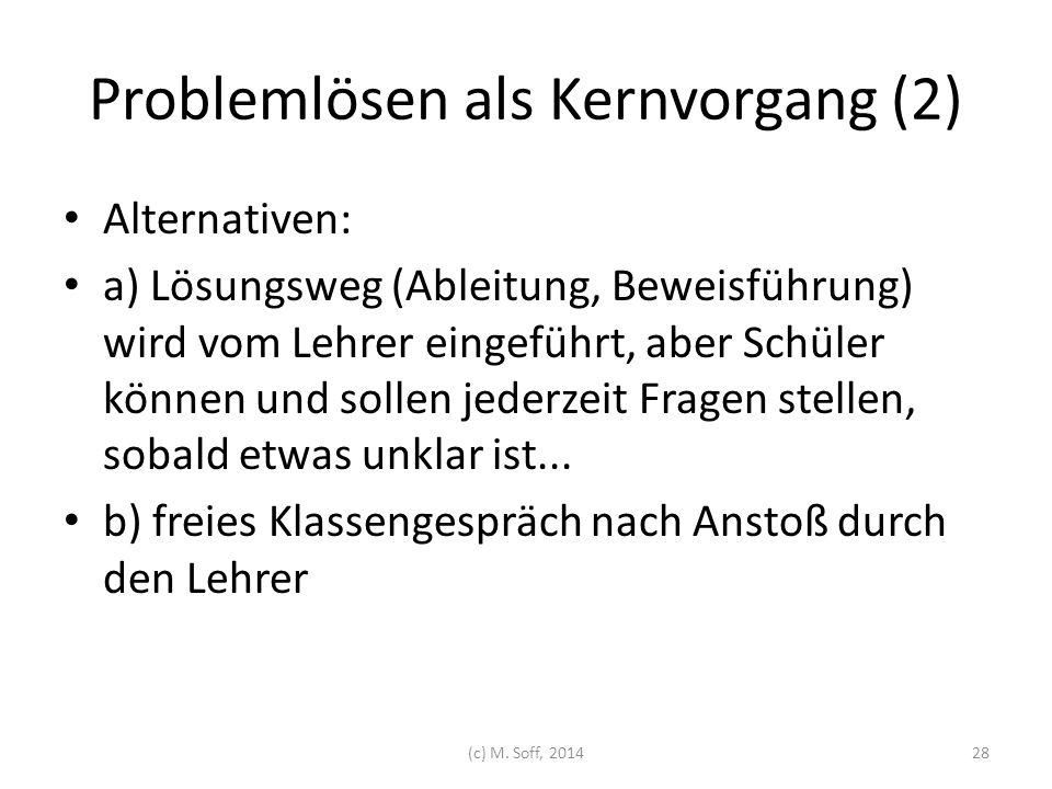 Problemlösen als Kernvorgang (2)