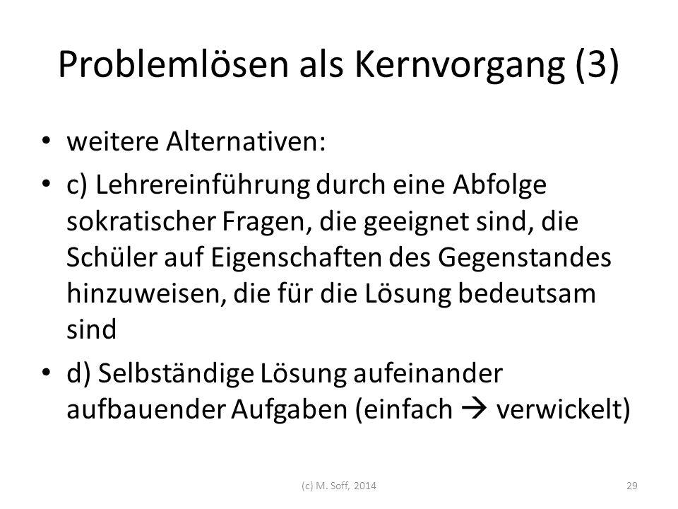 Problemlösen als Kernvorgang (3)