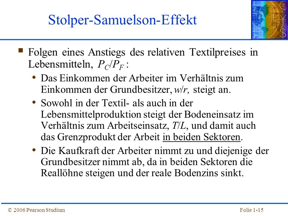 Stolper-Samuelson-Effekt