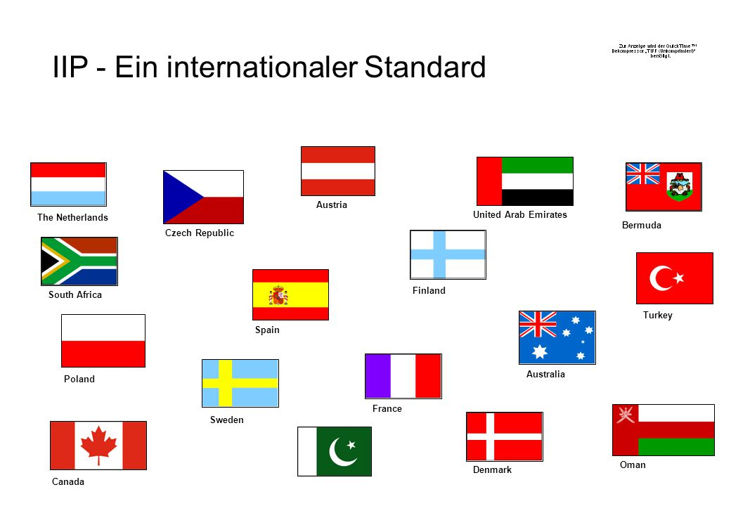 IIP - Ein internationaler Standard