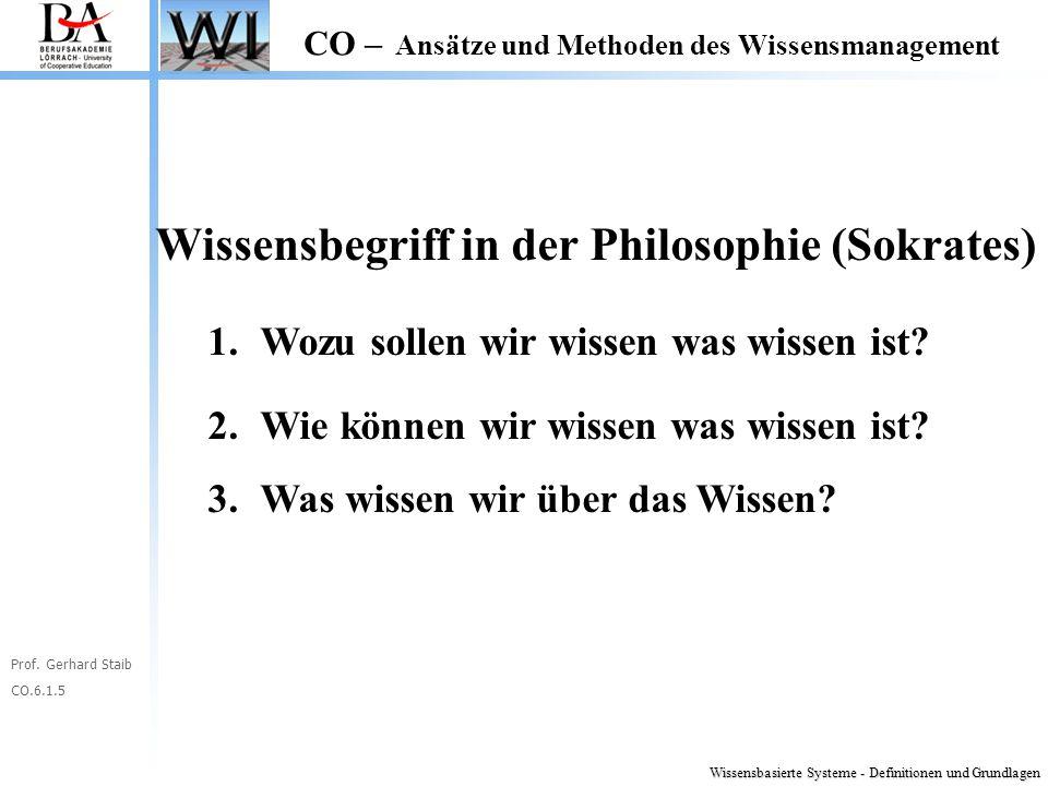 Wissensbegriff in der Philosophie (Sokrates)