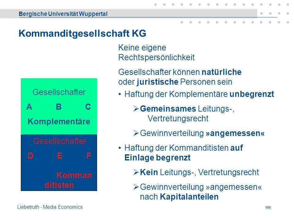 Kommanditgesellschaft KG