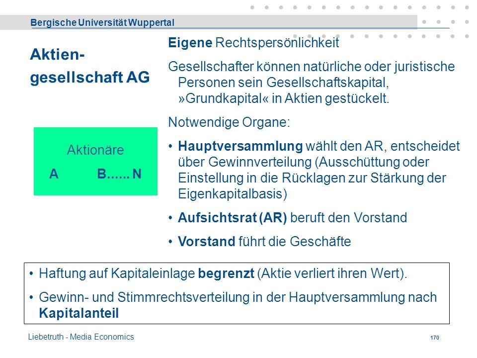 Aktien- gesellschaft AG