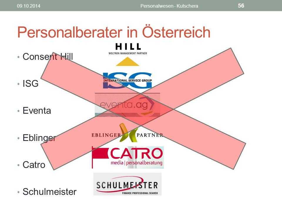 Personalberater in Österreich