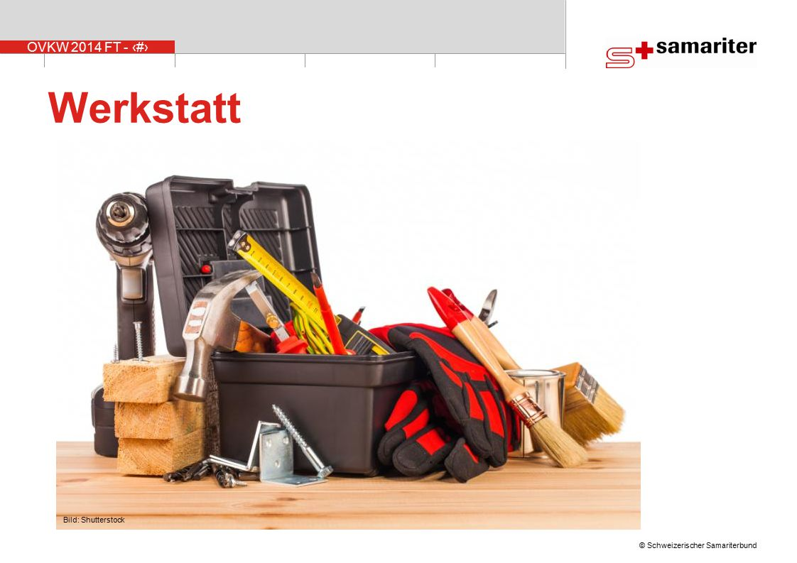 Werkstatt Bild: Shutterstock