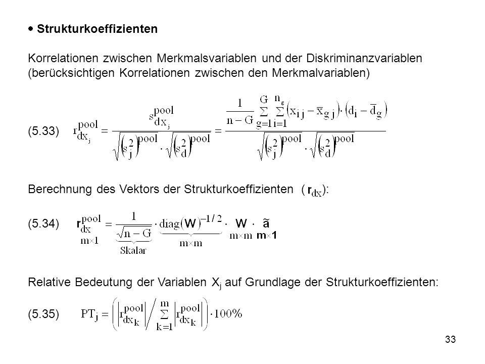 Strukturkoeffizienten