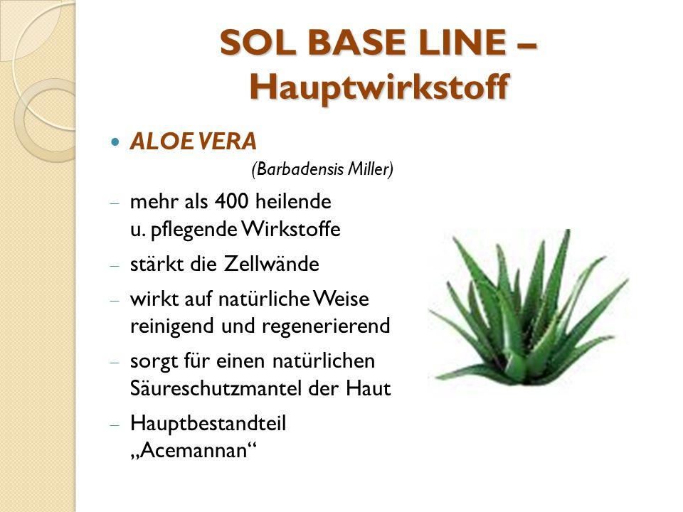 SOL BASE LINE – Hauptwirkstoff