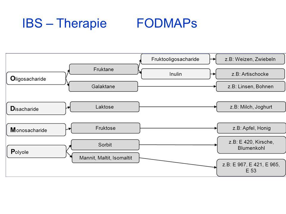 IBS – Therapie FODMAPs