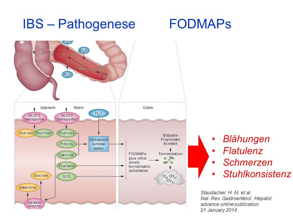 IBS – Pathogenese FODMAPs