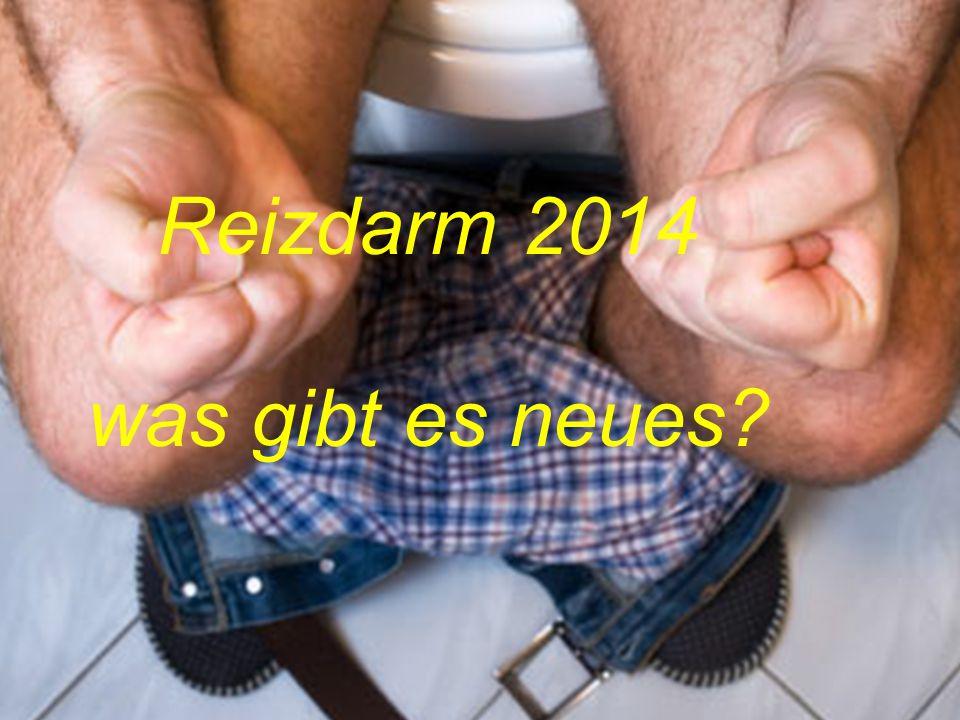 IBS – Therapie - Reizdarm 2014 was gibt es neues