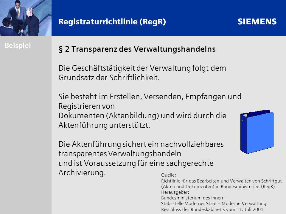 Registraturrichtlinie (RegR)