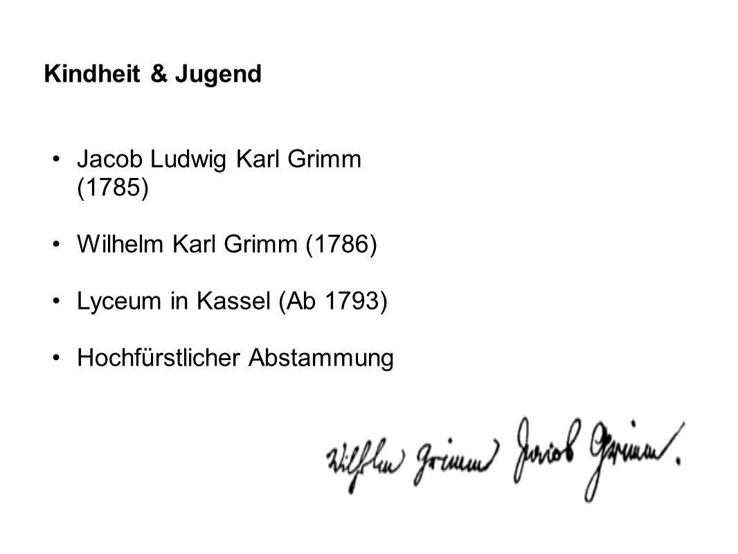 Jacob Ludwig Karl Grimm (1785)