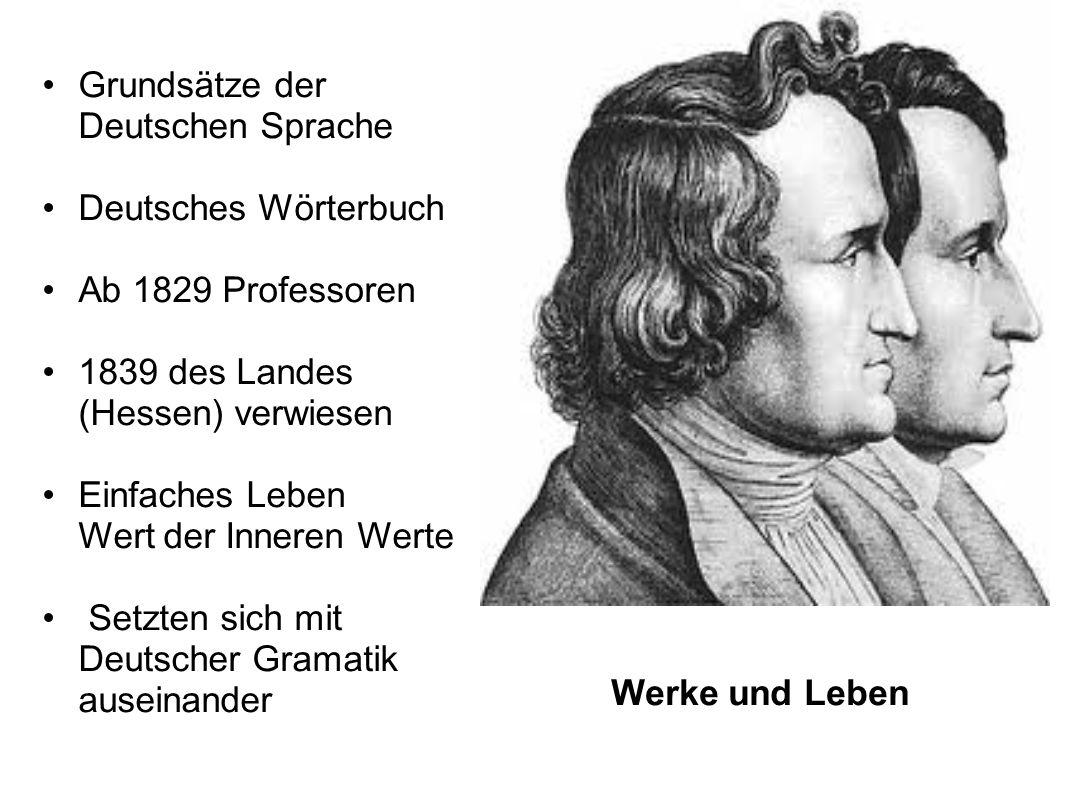 Grundsätze der Deutschen Sprache