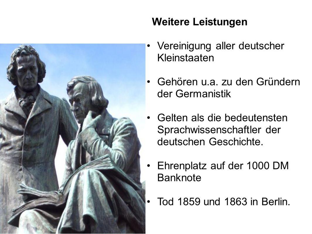 Vereinigung aller deutscher Kleinstaaten