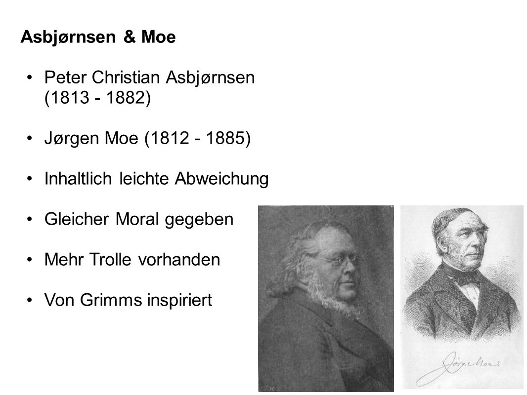 Peter Christian Asbjørnsen (1813 - 1882)