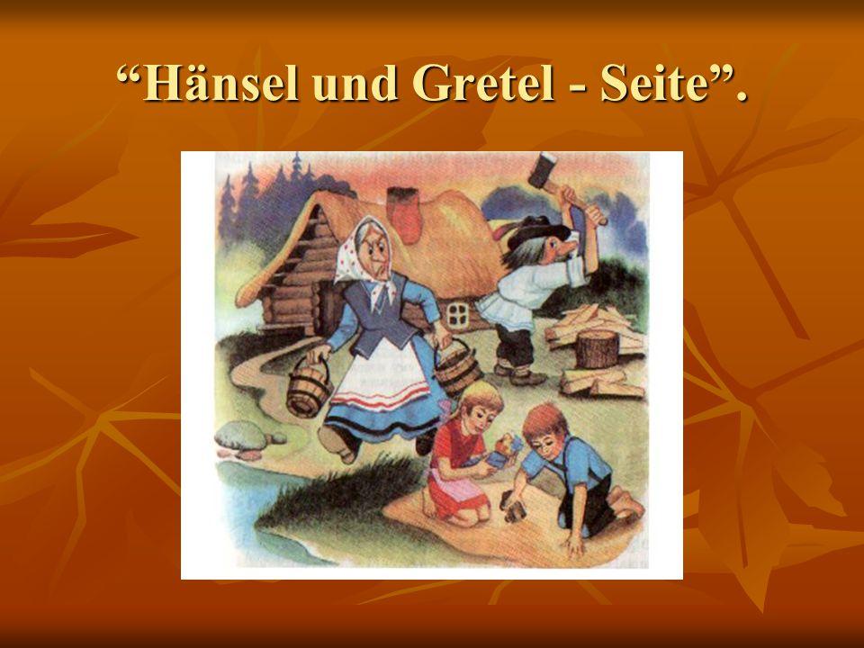 Hänsel und Gretel - Seite .