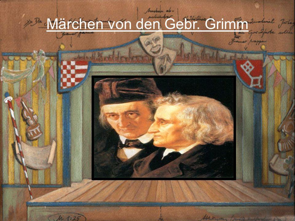 Märchen von den Gebr. Grimm