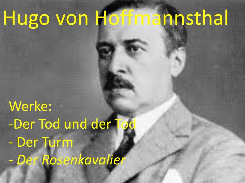 Hugo von Hoffmannsthal