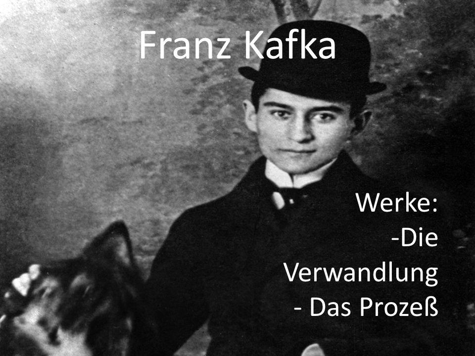 Franz Kafka Werke: Die Verwandlung Das Prozeß