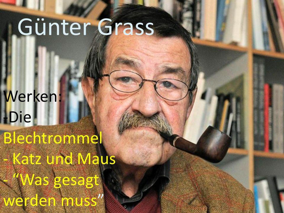 Günter Grass Werken: Die Blechtrommel Katz und Maus